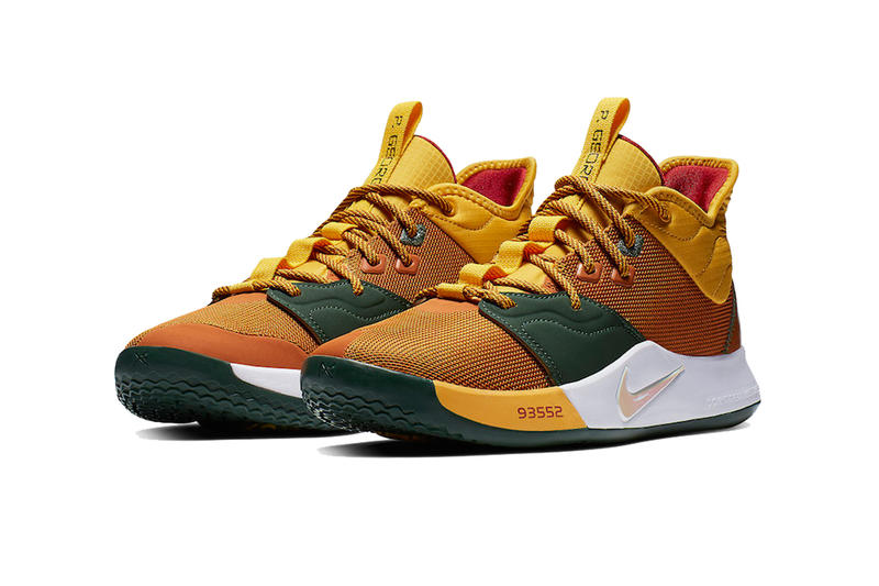 nike pg 3 all star acg 2019 february footwear paul george nike basketball pg3 fishing outdoors multicolor
