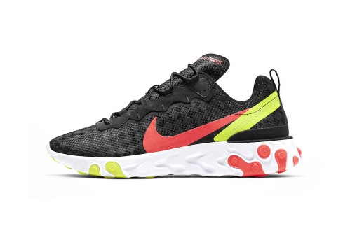 Nike's Latest React Element 55 Receives Hits of Vibrant Colors