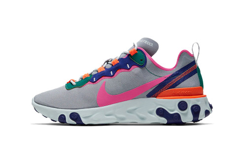 "Nike React Element 55 ""Wolf Grey"""