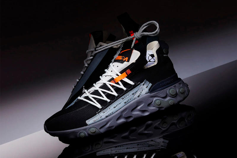 Nike React WR ISPA Release swoosh water resistant uppers