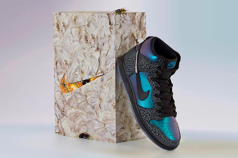 d8268f90af54 black sheep skate shop nike sb dunk high black hornet 2019 february footwear