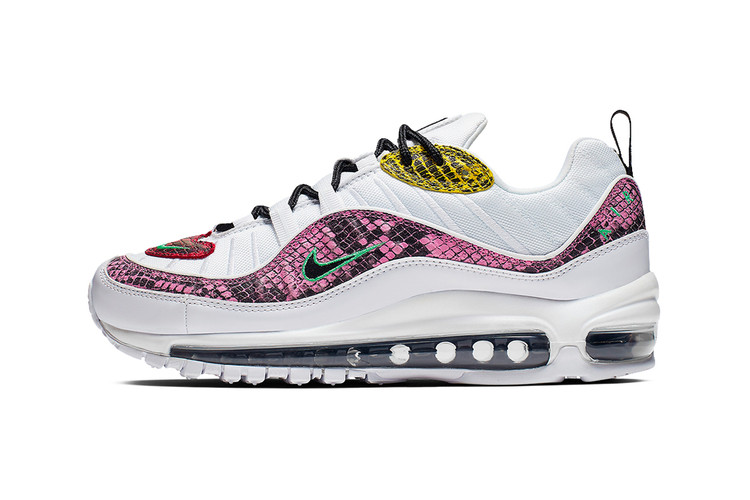 c877caa290c6b2 Nike Gives the Air Max 98 a Multi-Colored Snakeskin Makeover