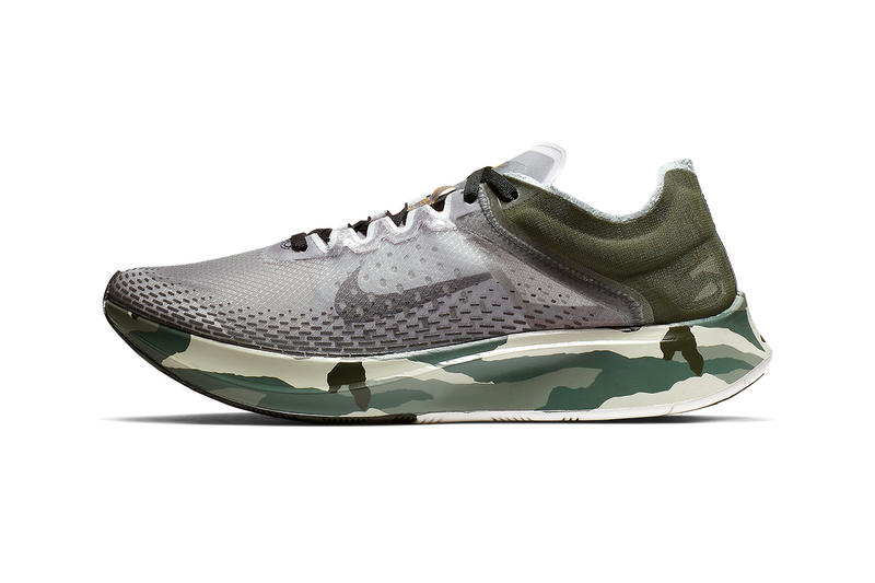 9ce7ec12431b3 Nike Zoom Fly SP Fast Sequoia Golden Moss Release