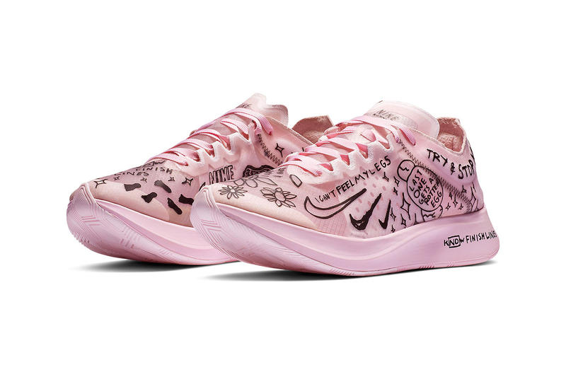 Nike Drops Collaborative Zoom Fly SP with Runner Nathan Bell pink release drop date price images footwear trainers running sneakers