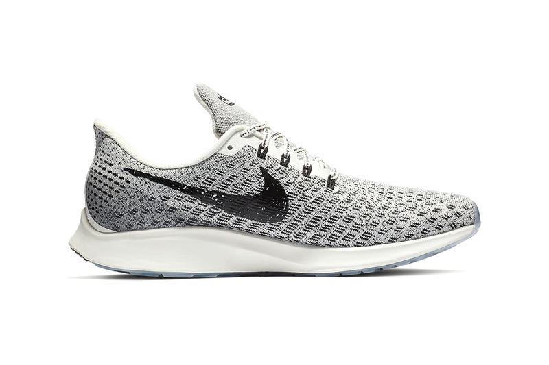 Nike Zoom Pegasus 35 DIY Sneaker Oreo Colorway Handwritten running handdrawn customized customization