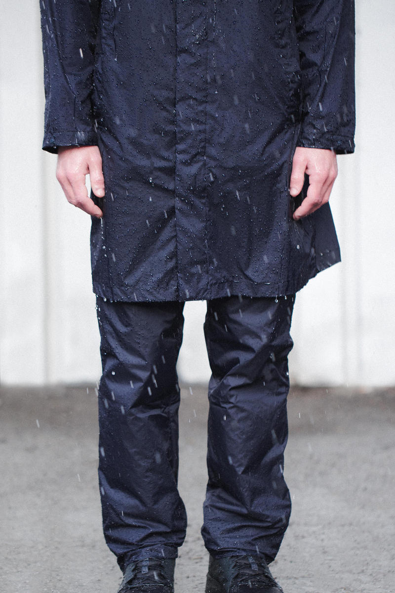 "Norse Projects ""Light Rain"" SS19 Spring Summer 2019 Collection Menswear Scandinavian Danish Copenhagen Brand Minimal Raincoats Rain Trousers"