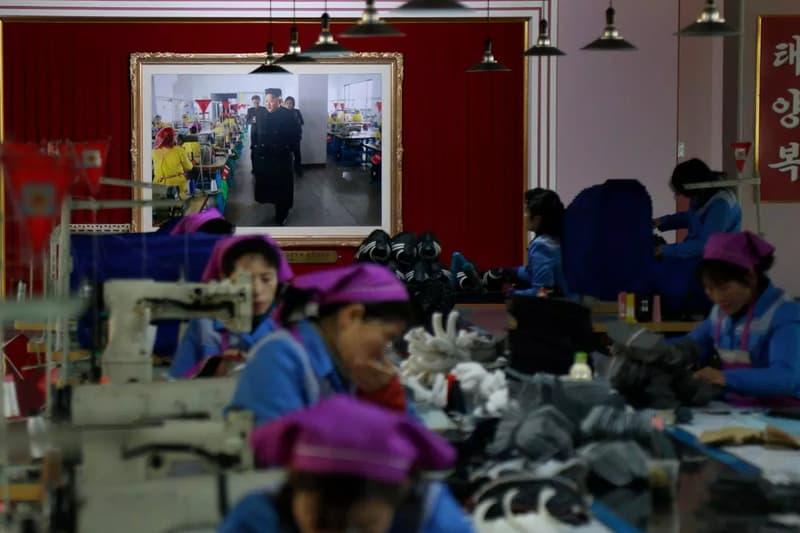North Korean Shoe Factories Replicate Foreign Brands' Sneakers nike jordan brand adidas asics info images footwear
