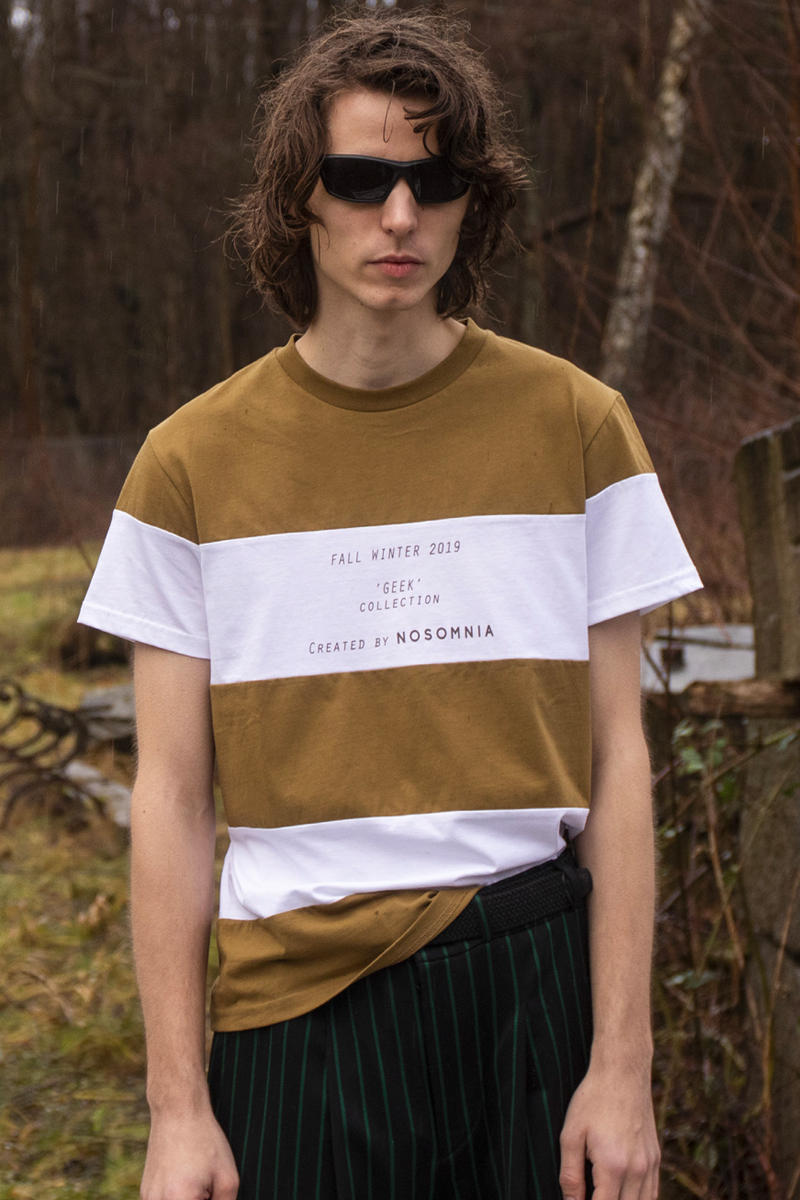 NOSOMNIA Unveils GEEK FW19 Collection Fall Winter Boy scout Gamer Silk Satin Italian wool Japanese Cotton poplin Italian Jacquard Knits British Corduroy Lookbook Danish