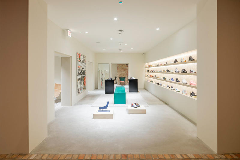 Notre's Renovated West Loop Location Reopening Chicago Norman Kelley architect clothing store storefront flagship