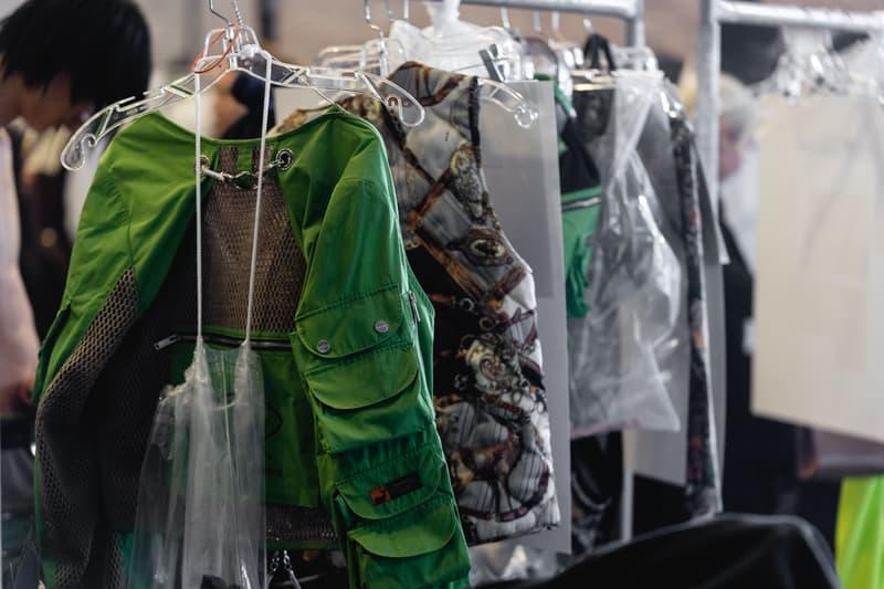 Palm Angels NYFW FW19 Show Backstage Francesco Ragazzi New York Fashion Week