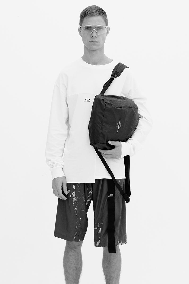 Oakley by Samuel Ross Season 2 Collection Lookbook Jackets Anoraks Sweaters T shirts pants shorts socks sunglasses bags