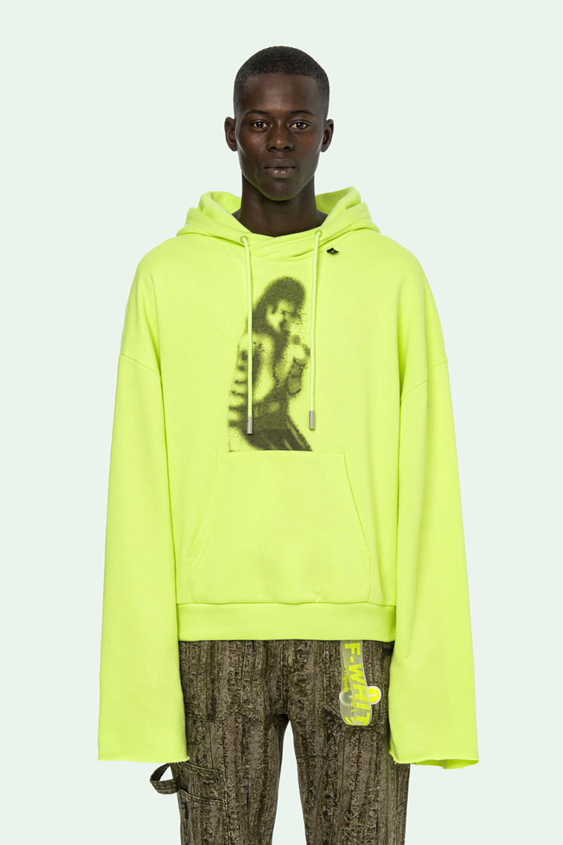 Off-White™ SS19 Michael Jackson Print hoodie tee shirt mj illusionist