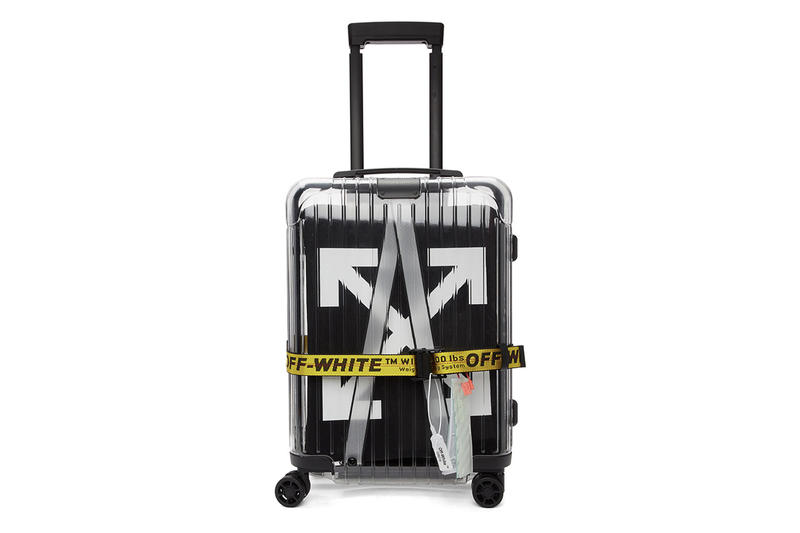 Off-White x Rimowa 'See Through'  Virgil Abloh Alexandre Arnault Luggage Restock Suitcase Hand Luggage SSENSE In Stock Black Resale $1700 USD Another Chance Buy Purchase Cop