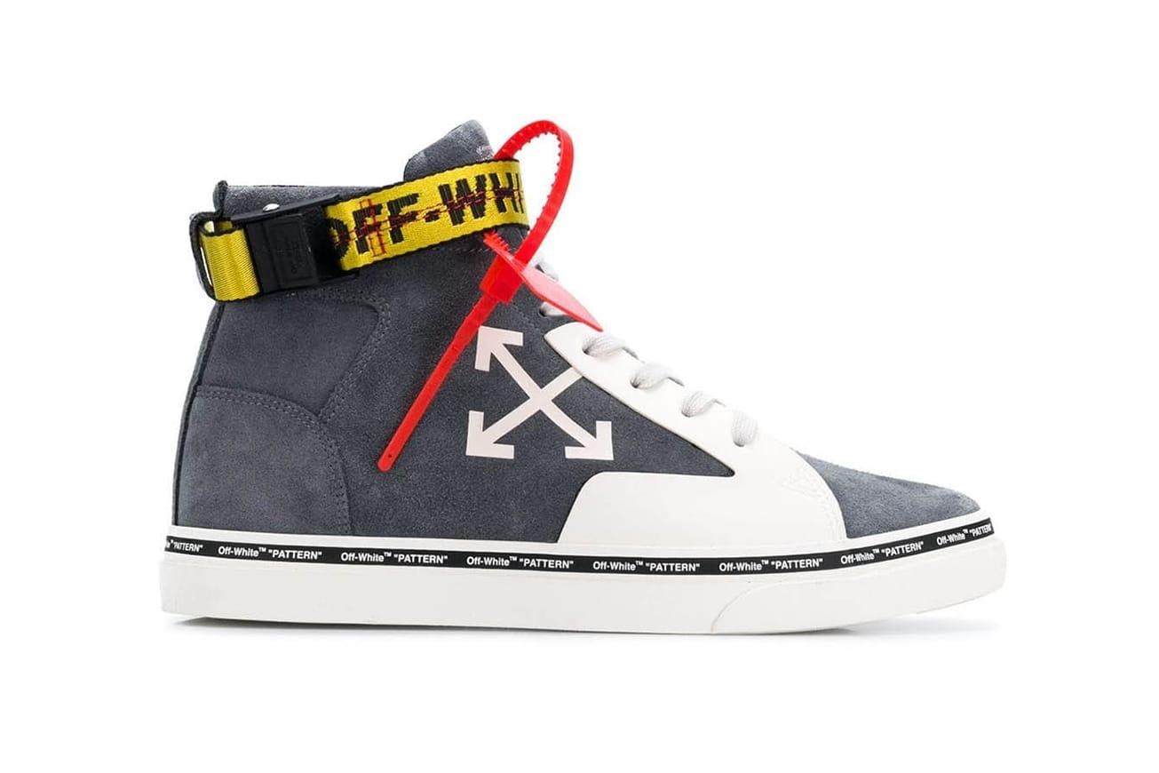 Off-White™ Skate Sneaker Green Gray