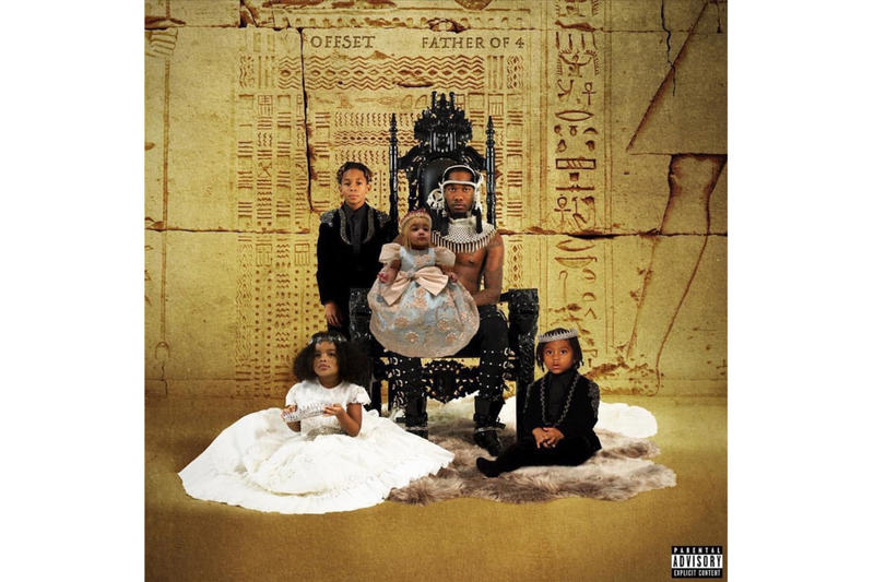 Offset Drops Debut Solo Album 'Father Of 4' migos quavo takeoff stream spotify apple music southside metro boomin hip-hop rap tidal