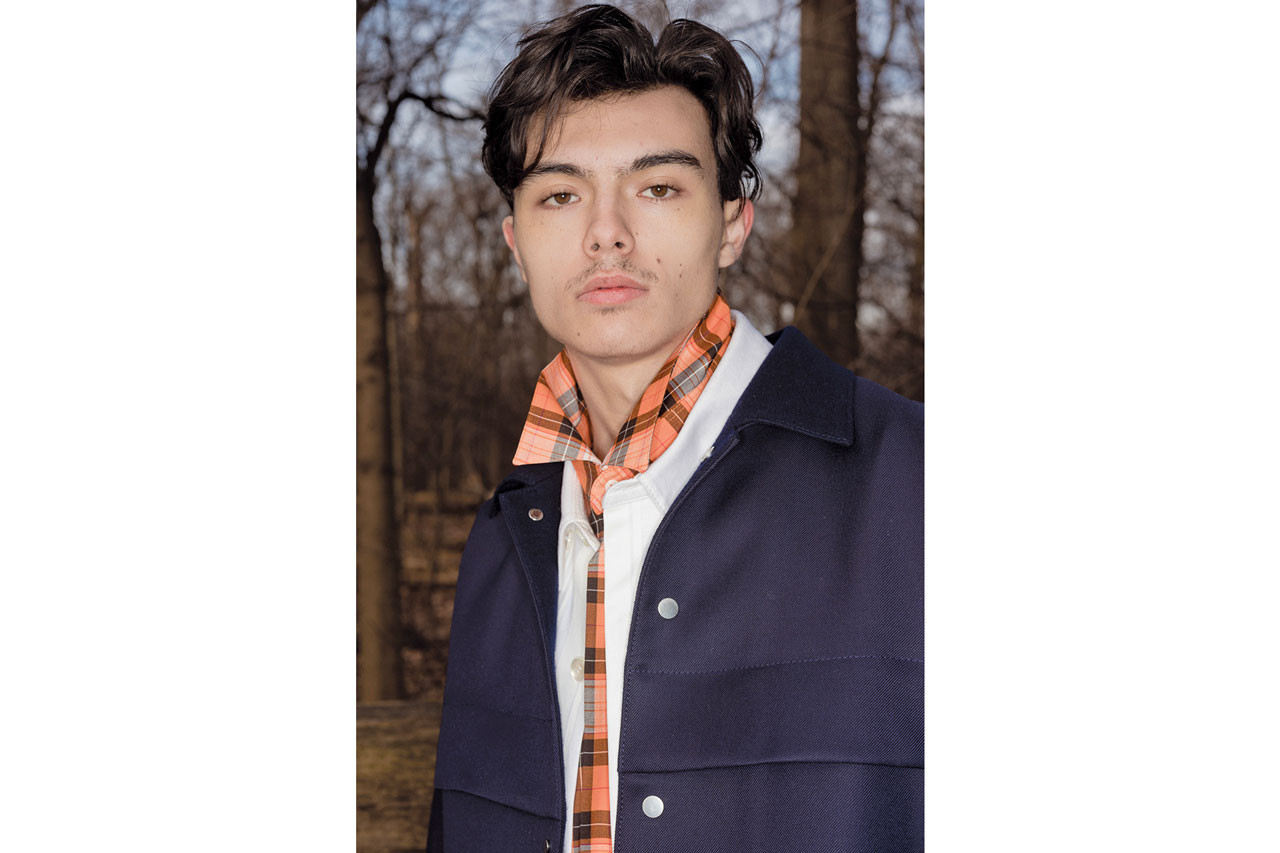 Overcoat Fall/Winter 2019 Lookbook Collection nyc new york Ryuhei Oomaru designer interview fashion week new york february