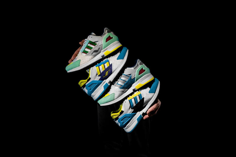 Overkill adidas ZX 10.000 C I CAN IF I WANT 1990 colorway drop release date info collaboration pack february 9 2019