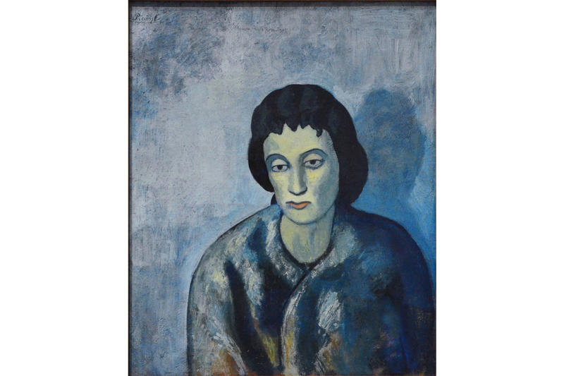 pablo picasso blue and rose periods fondation beyeler artworks paintings exhibitions