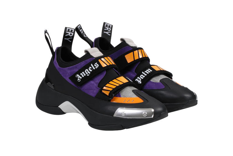 pretty nice 94238 cd21f Palm Angels Recovery Sneaker Black Purple Red White Orange Francesco Ragazzi