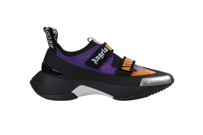 186918354e0 Palm Angels Recovery Sneaker Black Purple Red White Orange Francesco Ragazzi