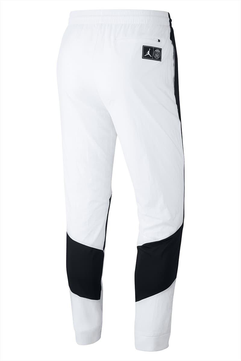 paris saint germain psg fc soccer football team jordan brand capsule collaboration collection monochrome black white drop release date info buy