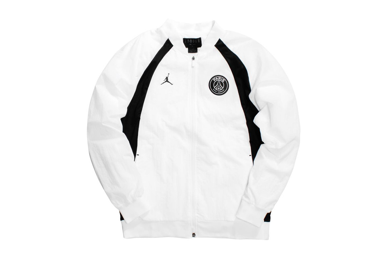paris saint germain psg fc soccer football team jordan brand capsule collaboration collection monochrome black white drop release date info buy