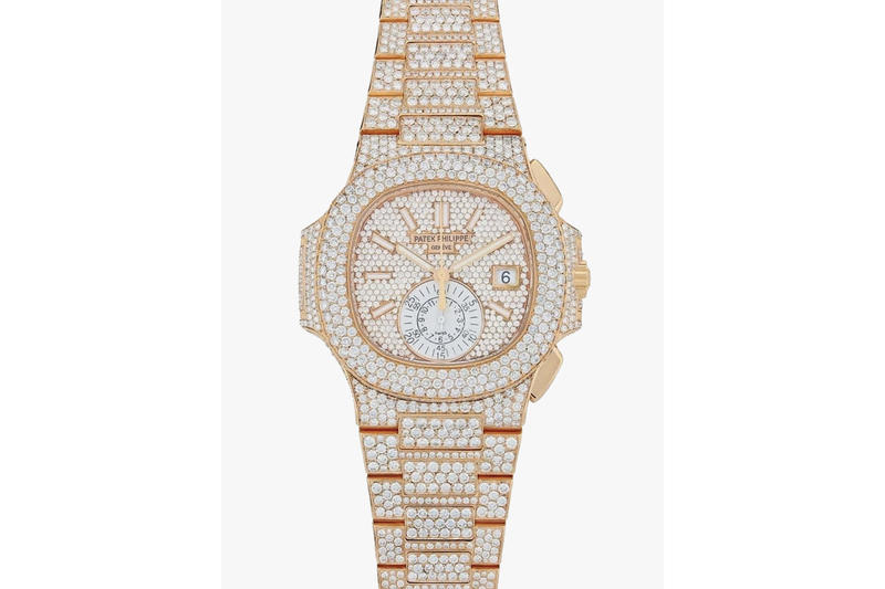 nouveau produit 9b538 0d02c Patek Philippe Diamond-Encrusted Nautilus Watch | HYPEBEAST