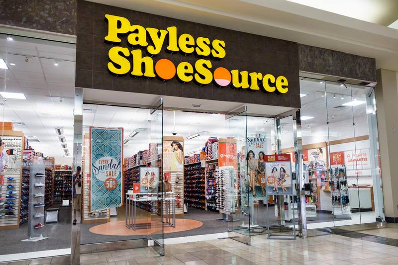 Payless ShoeSource US Store Bankruptcy Closures 2100 Chapter 7 11