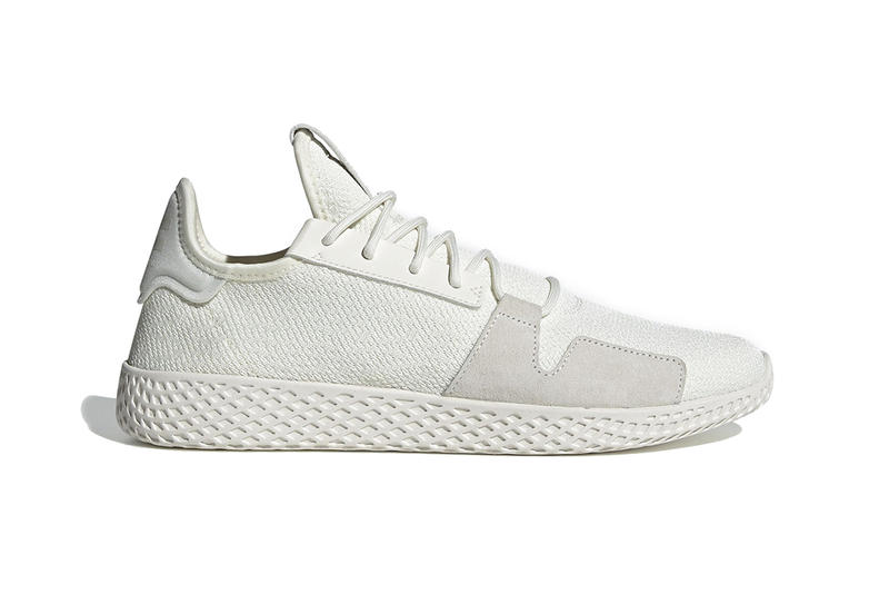 huge discount 79ca5 a6040 pharrell williams adidas originals tennis hu v2 2019 february footwear  black white tonal all over