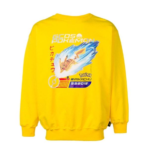 GCDS Pokémon Pikachu Crew Neck Sweatshirt