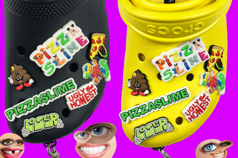 Crocs Collaboration With PizzaSlime Bag Release shoes crossbody bag