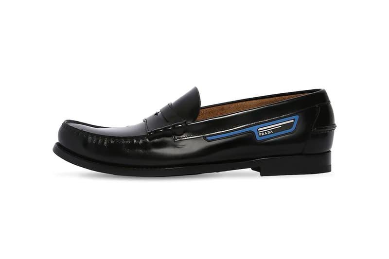 6b710f02635 Prada Unveils Its Unorthodox Take on Leather Penny Loafers
