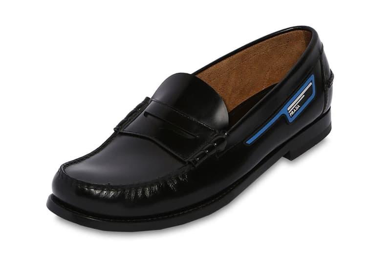 Prada Unveils Unorthodox Leather Penny Loafers | HYPEBEAST