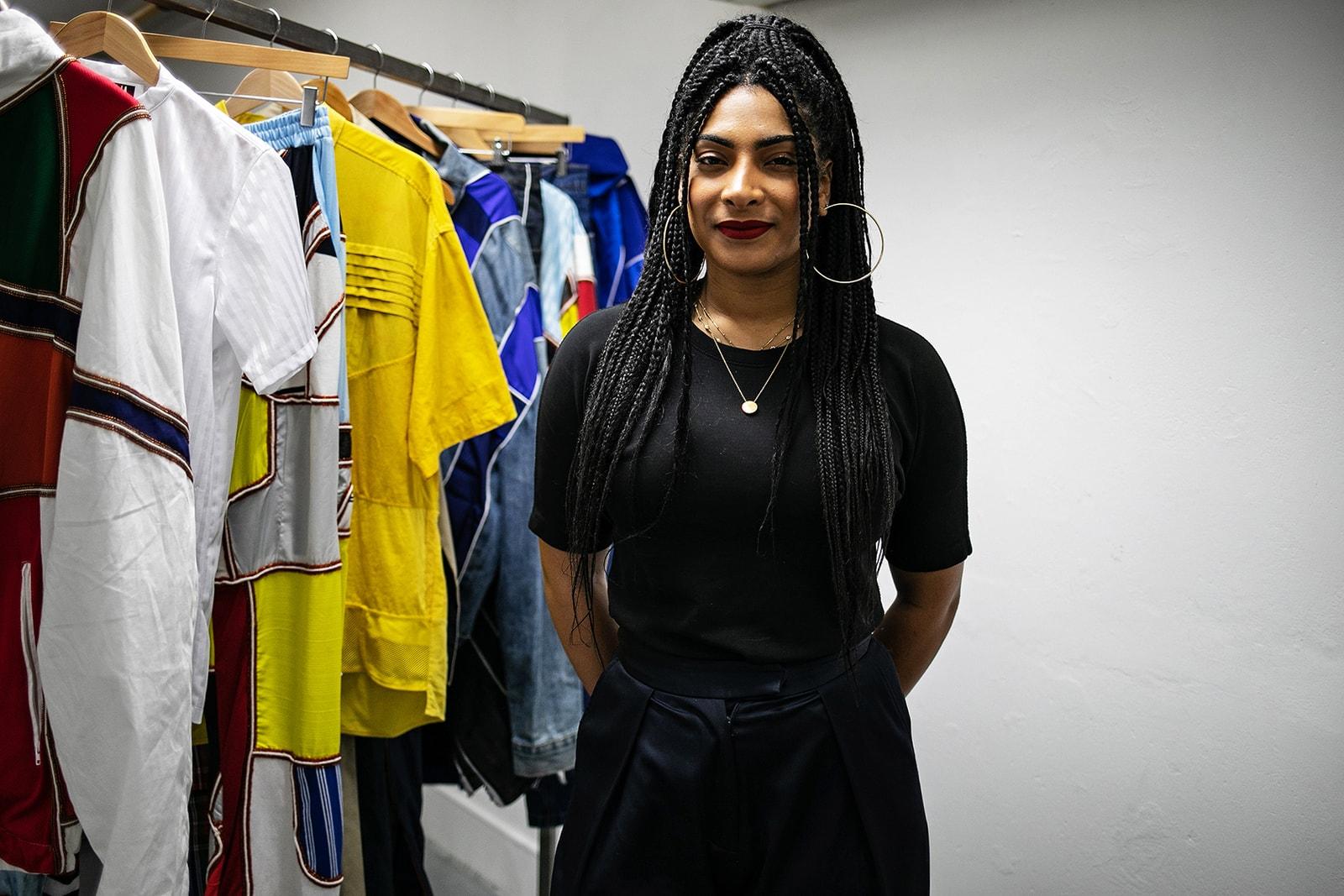 Priya Ahluwalia adidas MakerLab British Fashion Council Paris London Fashion Week AW19 Fall/Winter 2019