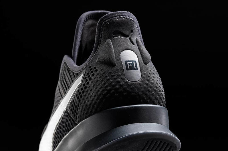 PUMA Introduces New Self-Lacing Running Sneakers grey silver drop release date images iphone apple android app watch cross training footwear sportswear