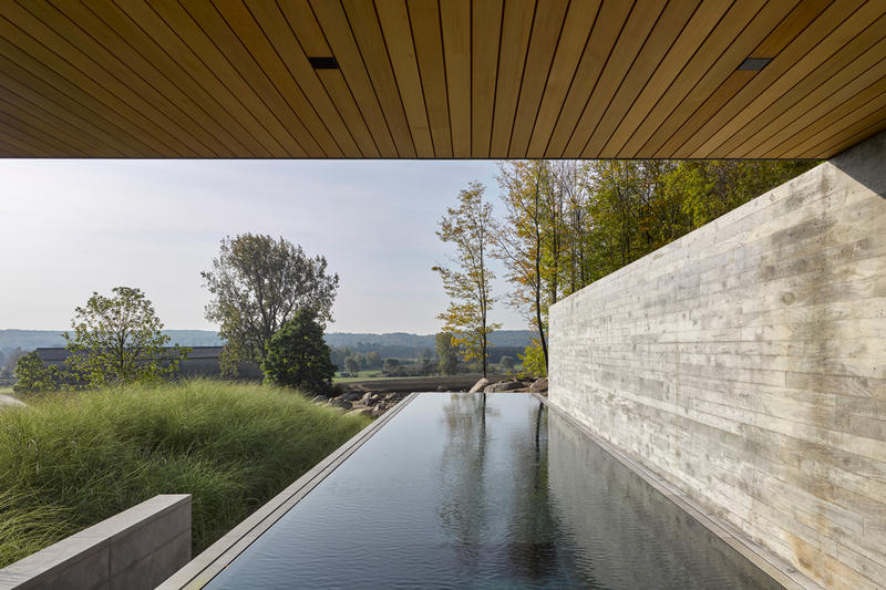 pool house quebec MacKay-Lyons Sweetapple Architects architecture