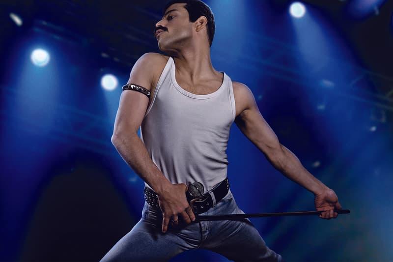 Queen Perform 2019 Oscars Adam Lambert Bohemian Rhapsody We Will Rock You Academy Awards Brian May Roger Taylor American Idol Freddie Mercury 91st