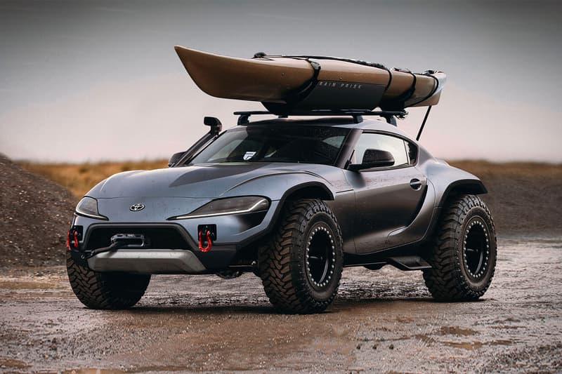 4 X 4 >> Rain Prisk 4x4 Toyota Supra Concept Hypebeast