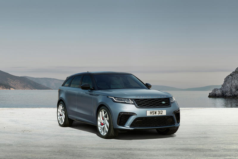 Range Rover Velar SVAutobiography Dynamic Edition car release info details cost buy 2019 february satin byron blue specs specifications technical land
