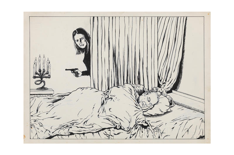 raymond pettibon ink drawings david zwirner online viewing room artworks