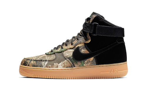 """Nike Expands Air Force 1 """"Realtree"""" Camo Selection"""