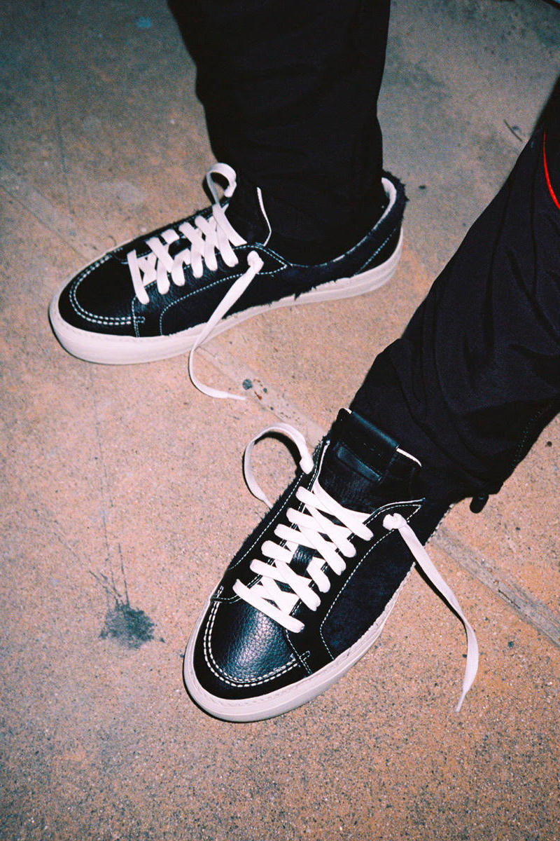 RHUDE RH 1 V1 Low High Top Release Teaser Black White Release Info Date metal