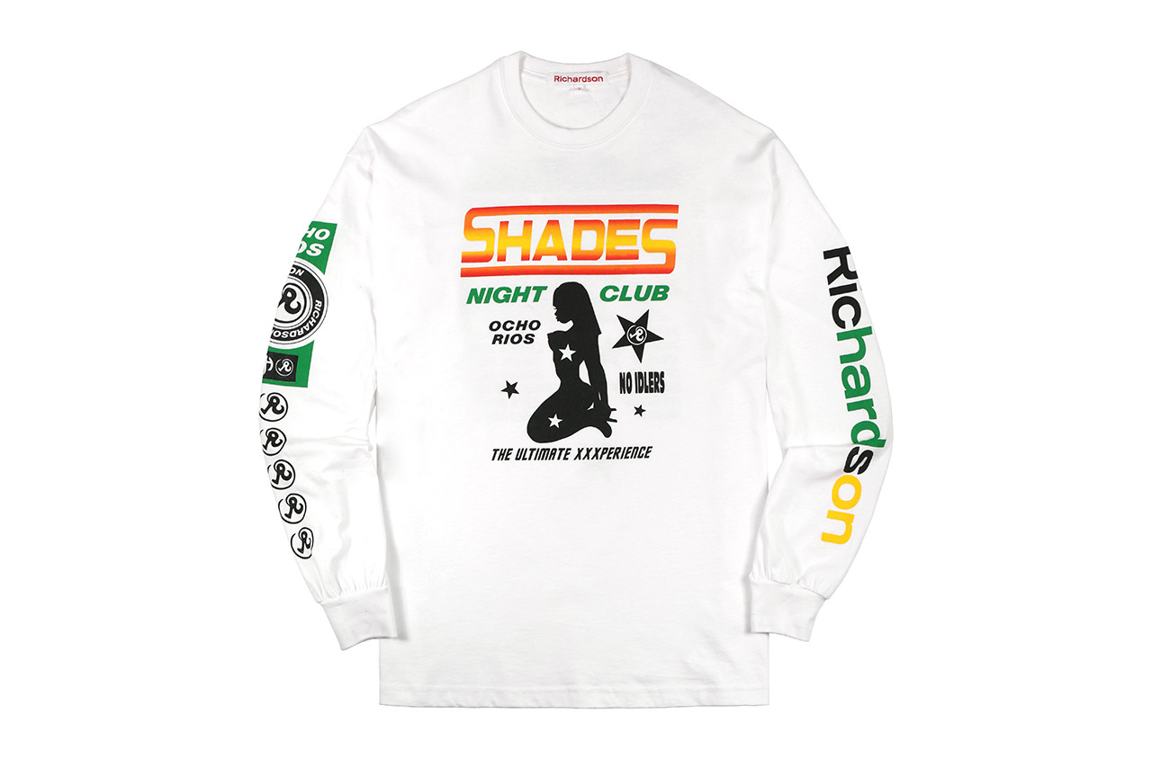 Richardson shades jamaica nightclub exotic dancers strippers tee shirt long sleeve hoodie key chain pouch towel slide sandals