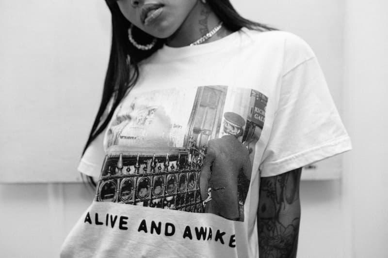 "Richardson Magazine SS19 Spring Summer 2019 Collection The Grey Organisation Artist Collective Suicide Band Alan Vega London Brooklyn Calvin & Hobbes Cartoon ""art terrorist action"""