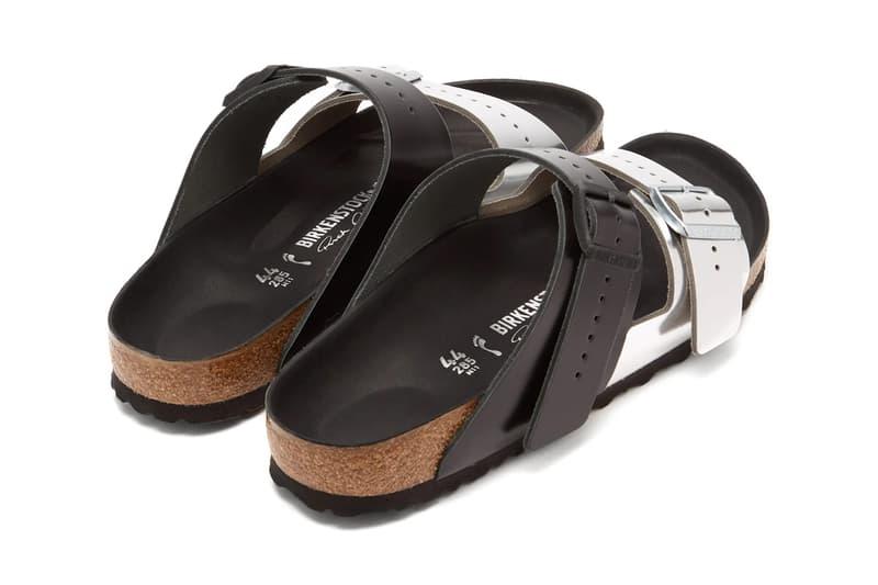 Rick Owens Birkenstock Arizona Release Info Date Cream Silver Black Leather Sandals Spring Summer 2019