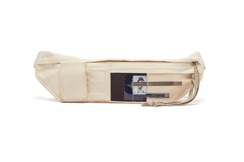 Rick Owens' DRKSHDW Drops Alien Patch Belt Bag for SS19