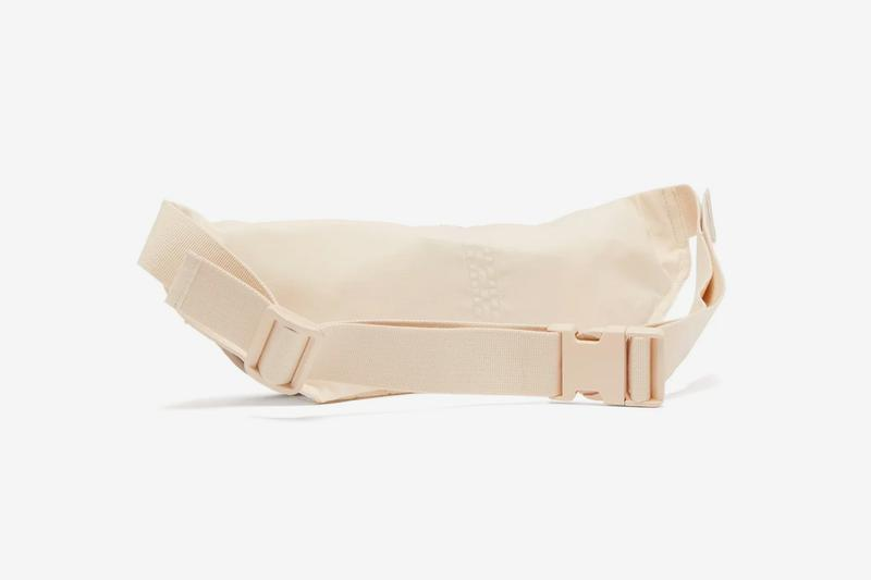 Rick Owens DRKSHDW Aliens Canvas Belt Bag Release white beige matchesfashion.com closer look buy cop purchase