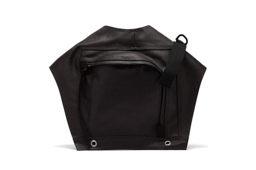 Check out Rick Owens' Outlandish Rubberized-Cotton Utility Belt Bag