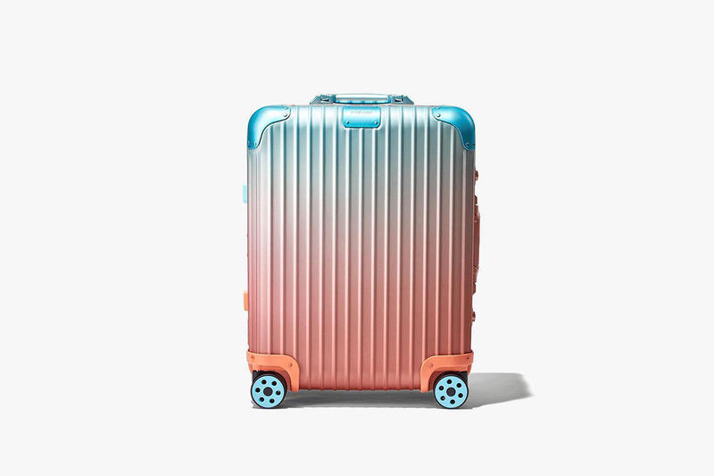 Rimowa x Alex Israel Suitcase Collaboration suitcases travel luggage art paintings los angeles