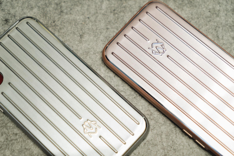 RIMOWA Aluminium Groove Apple iPhone Case Closer Look Pink Silver